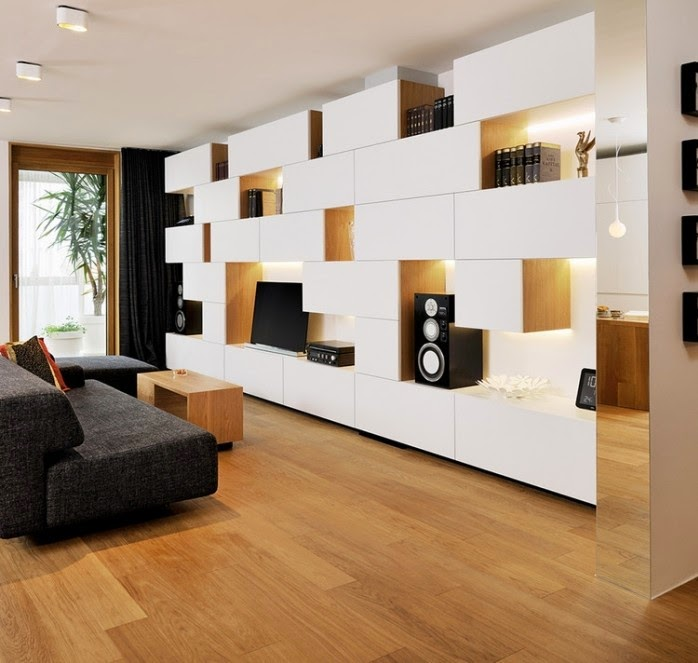 How To Decorate A Living Room With Modern Wall Units