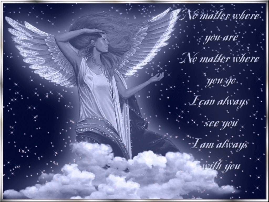 how to call my guardian angel