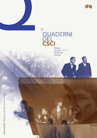 L'OTTAVO NUMERO DEI «QUADERNI DEL CSCI. RIVISTA ANNUALE DI CINEMA ITALIANO»