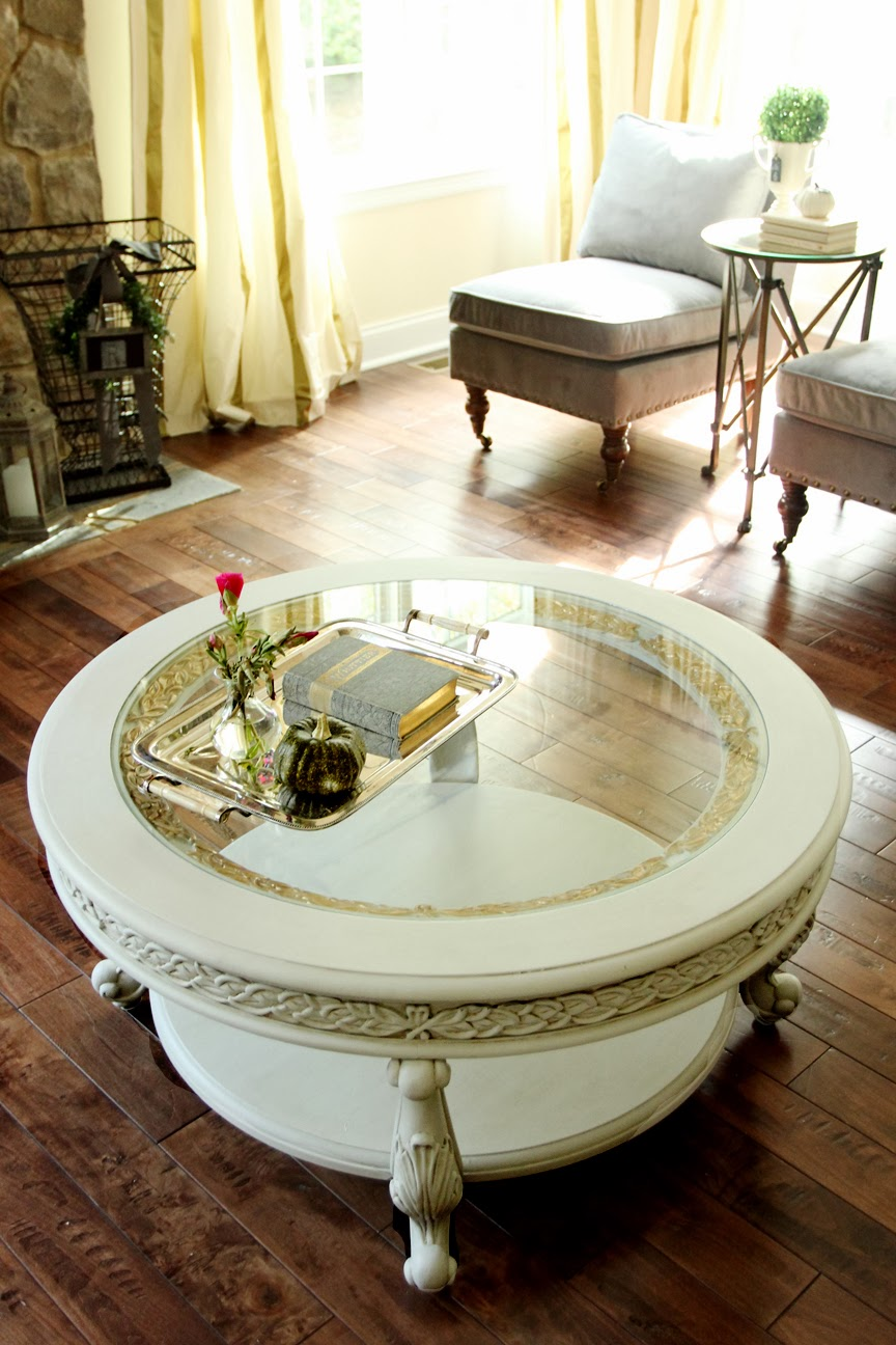 Diy Round Coffee Table Home Design 2017