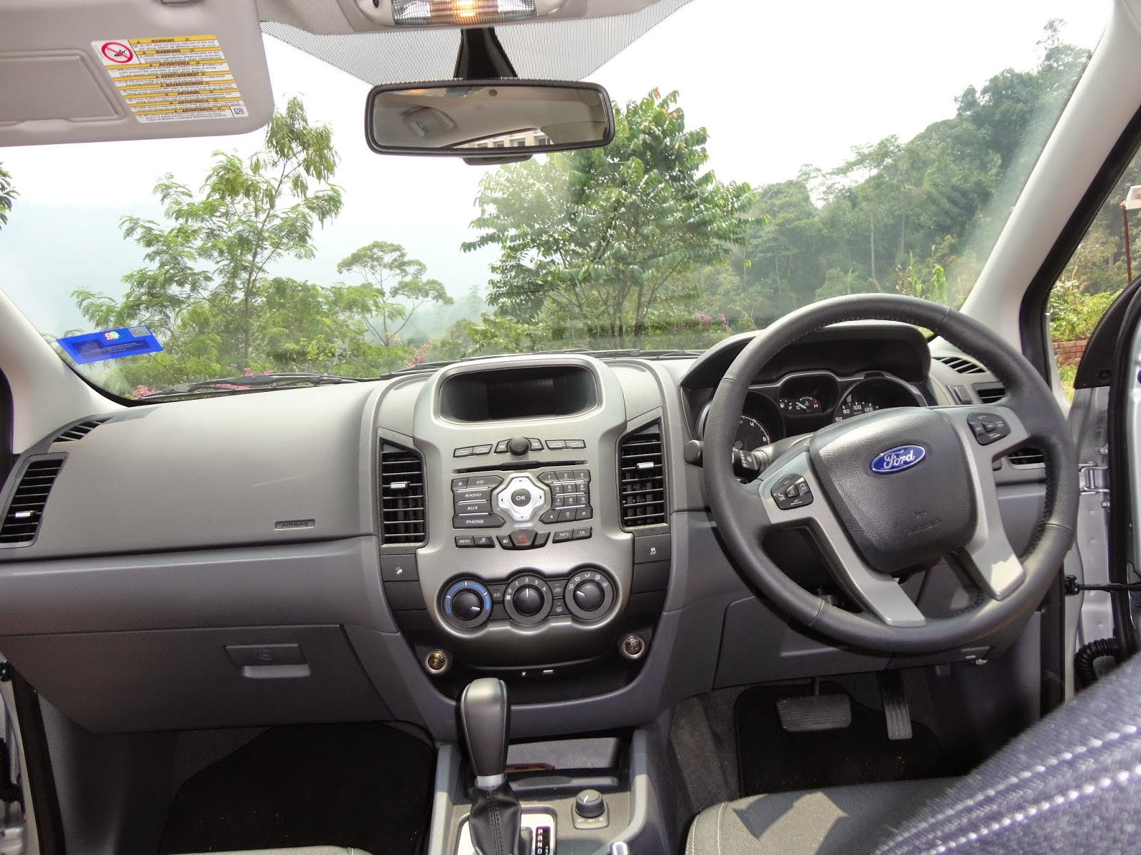 Car interior malaysia - The Ranger S Interior Is More Car Like Than The Previous Generation Of Ford Ranger It Sits High Up And Allows You 800mm Of Water Wading Capability Which