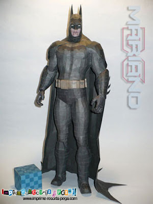 Batman Papercraft Model, Free Download