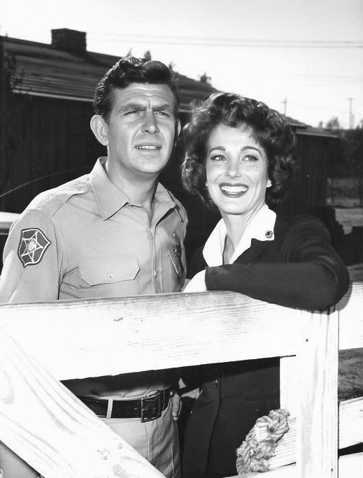 Julie with Andy Griffith