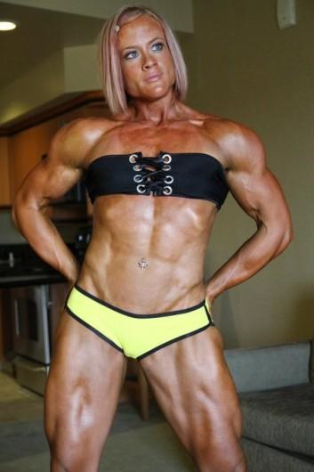 fille bodybuildee