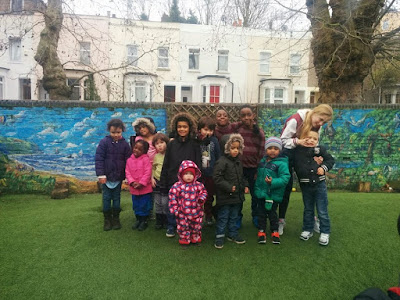 Dads Group kids group photo - March 2015