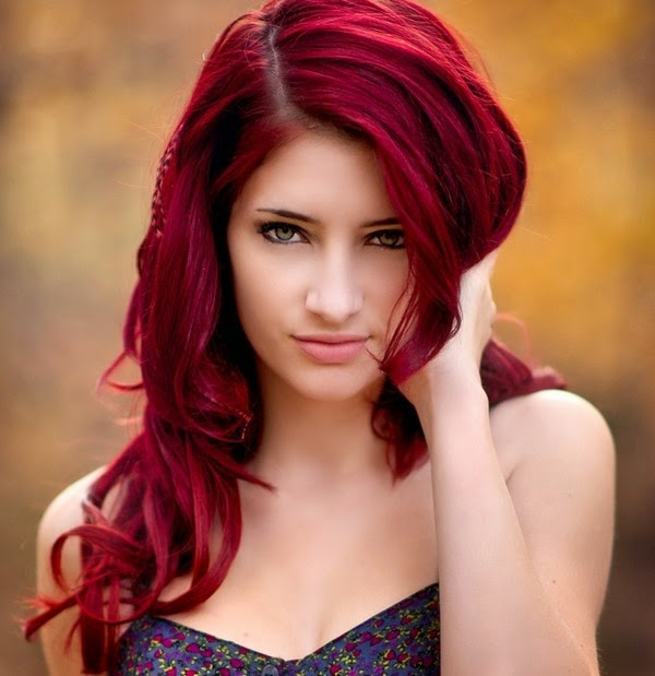 Garnier Hair Color A Brief Guide To Red Hair Color