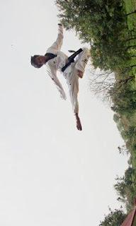 tendangan terbang