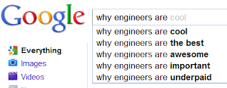Why Engineers Are? Vs Why Doctors Are?