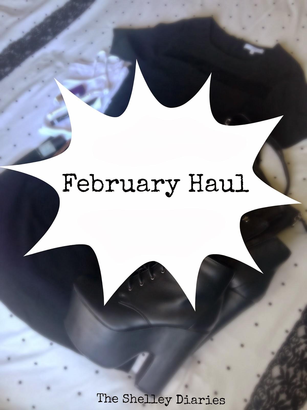 February Haul