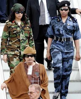 muammar algaddafi female bodyguards 09 Foto foto 40 Perawan Pengawal Pribadi Muammar Qadhafi