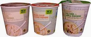 M&S porridge pots