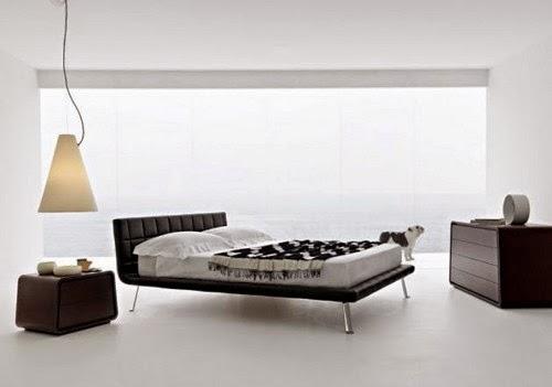 modern minimalist white bedroom Inspiration minimalist beds