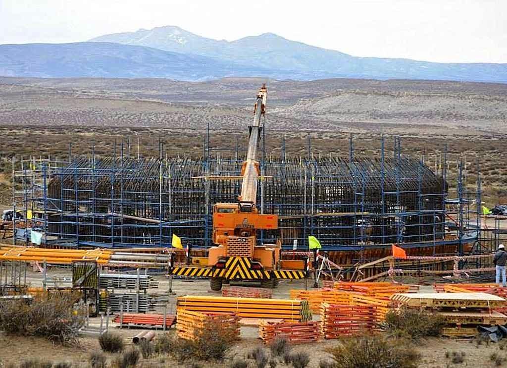 Base chinesa em acelerada fase de construção na Patagônia