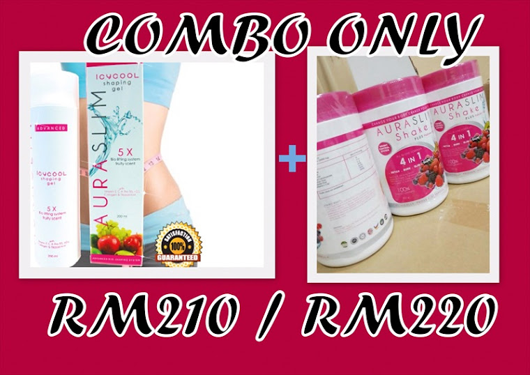 aura slim/icycool : RM210/RM220