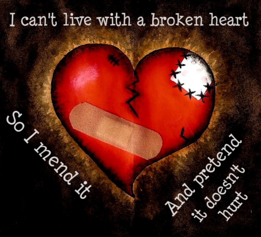 Broken Hearts Quotes To Help QuotesGram