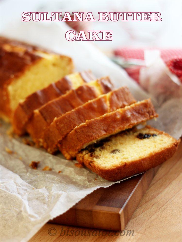 Bisousatoi Butter Cake