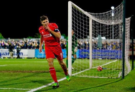 Dua Gol Gerrard Antarkan Liverpool ke Babak Keempat