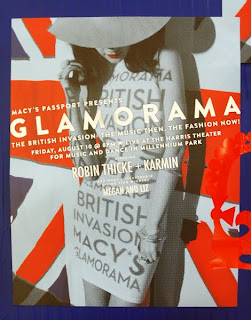 Macy's Glamorama's British Invasion Event at Millennium Park.