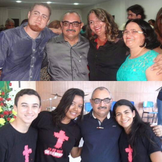 Allyson Dantas, Ivonny e Jania. Tiaguinho, Aline e Kelly Dafne.
