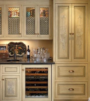 Casas cocinas mueble paneles japoneses ikea for Pintar muebles barnizados