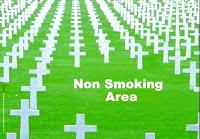 S-a pus cruce fumatului, sa fie primit!
