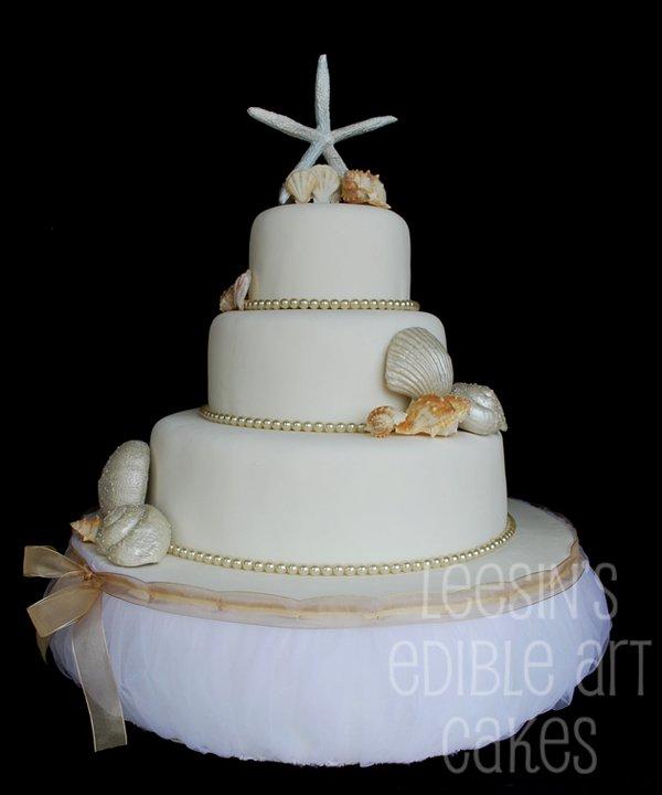 Penang Wedding Cakes by Leesin Seashell Wedding Cake Philadelphia