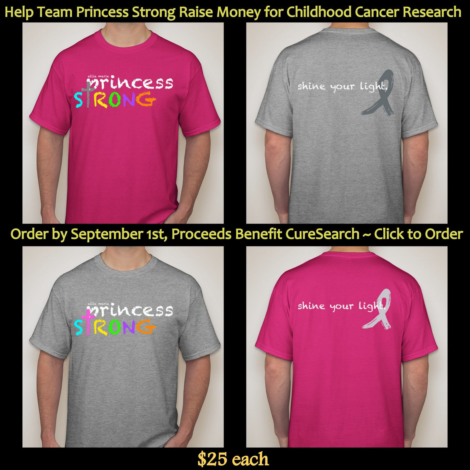 Princess Strong Shirts
