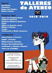 informacion talleres ateneo 2018 -2019