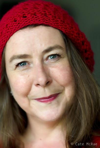 Virginia Bergin, author photo © Cate McRae 2014