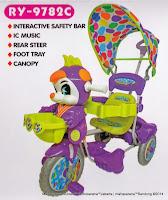 Sepeda Roda Tiga Royal RY9782C Baby JacQ