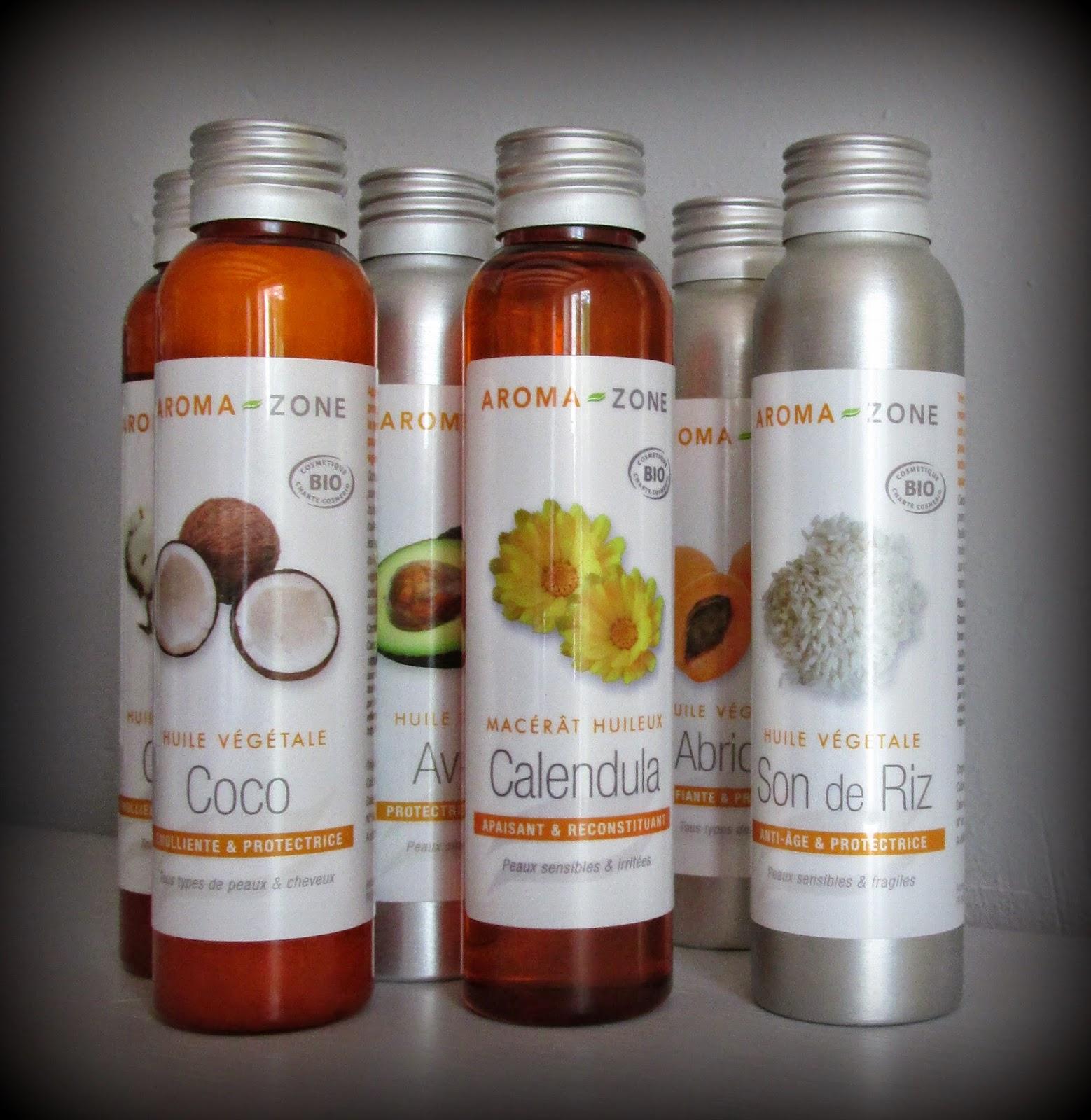 huile vegetale et hydrolat
