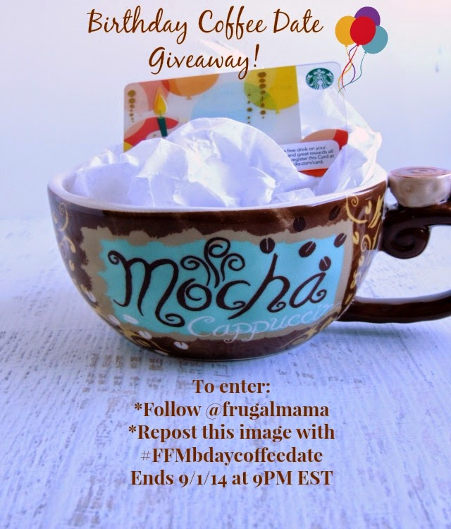 A Birthday Coffee Date Giveaway just for my Instagram Followers! Follow along & get entered...