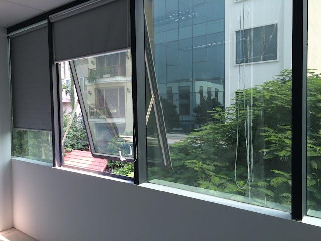 Mặt bằng làm văn phòng bên trong của tòa nhà 9 tầng Betravel rộng rãi, thiết kế tự do