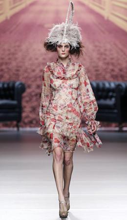 Alma Aguilar vestido otoño invierno 2011 2012