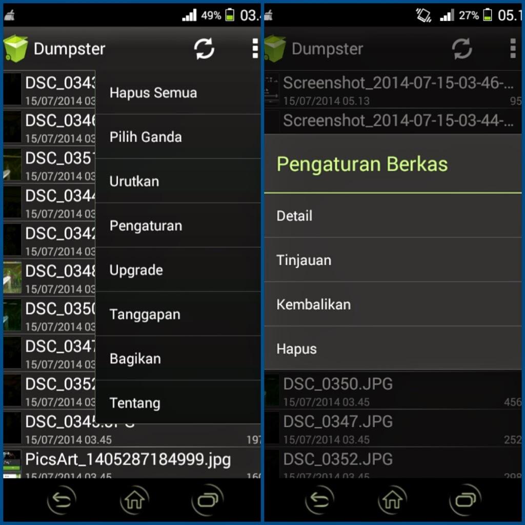 Aplikasi Untuk Mengembalikan Berkas Yang Terhapus