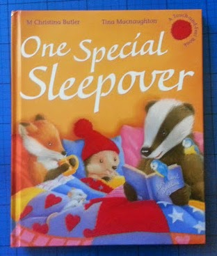 One Special Sleepover by Little Tiger Press children's book review