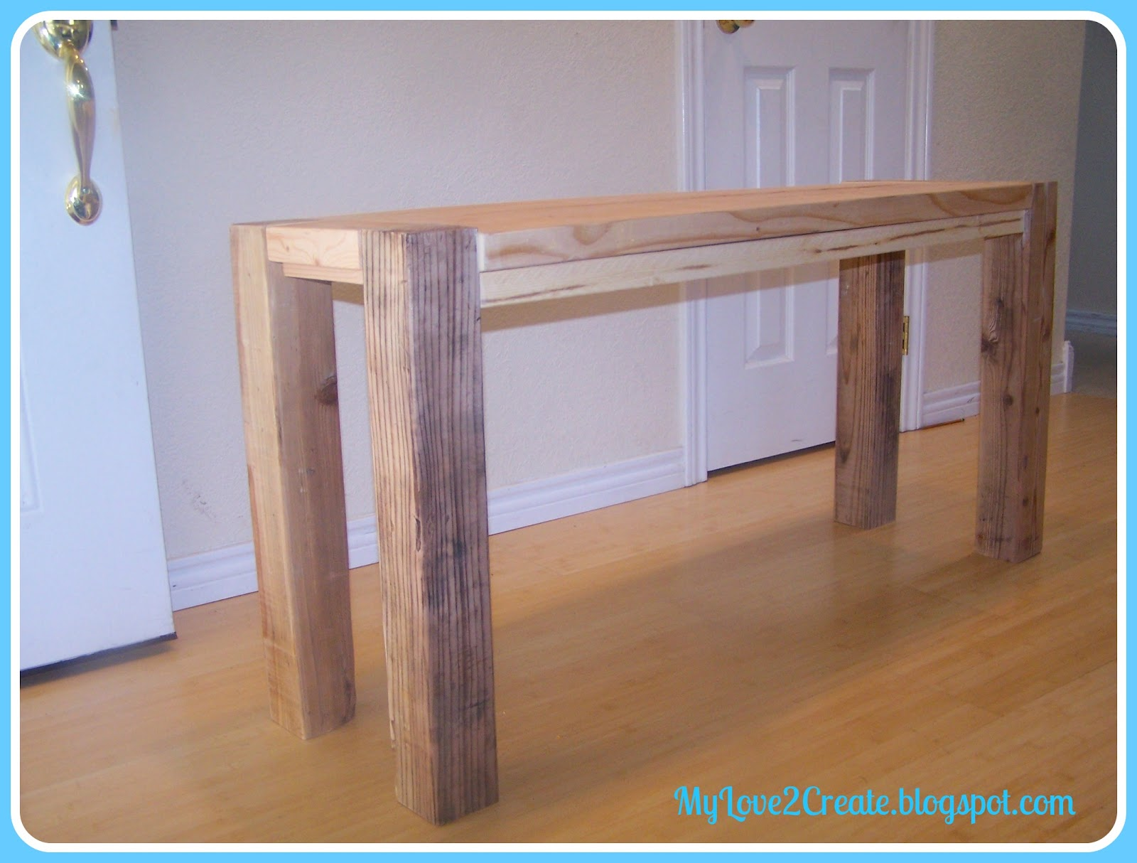 Counter Height Bench My Love 2 Create