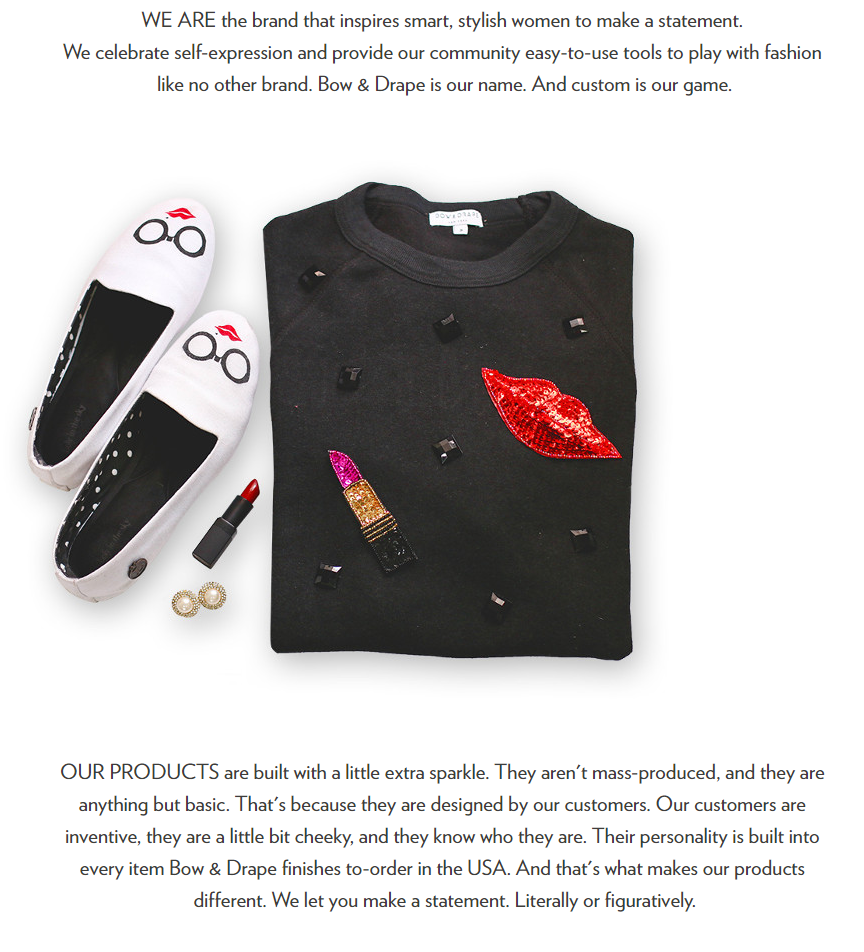 This Little Mission Statement Is Taken Directly From The Bow And Drape  Website And The Sweater At The Center Is A Key Piece Of Their Clothing Line.