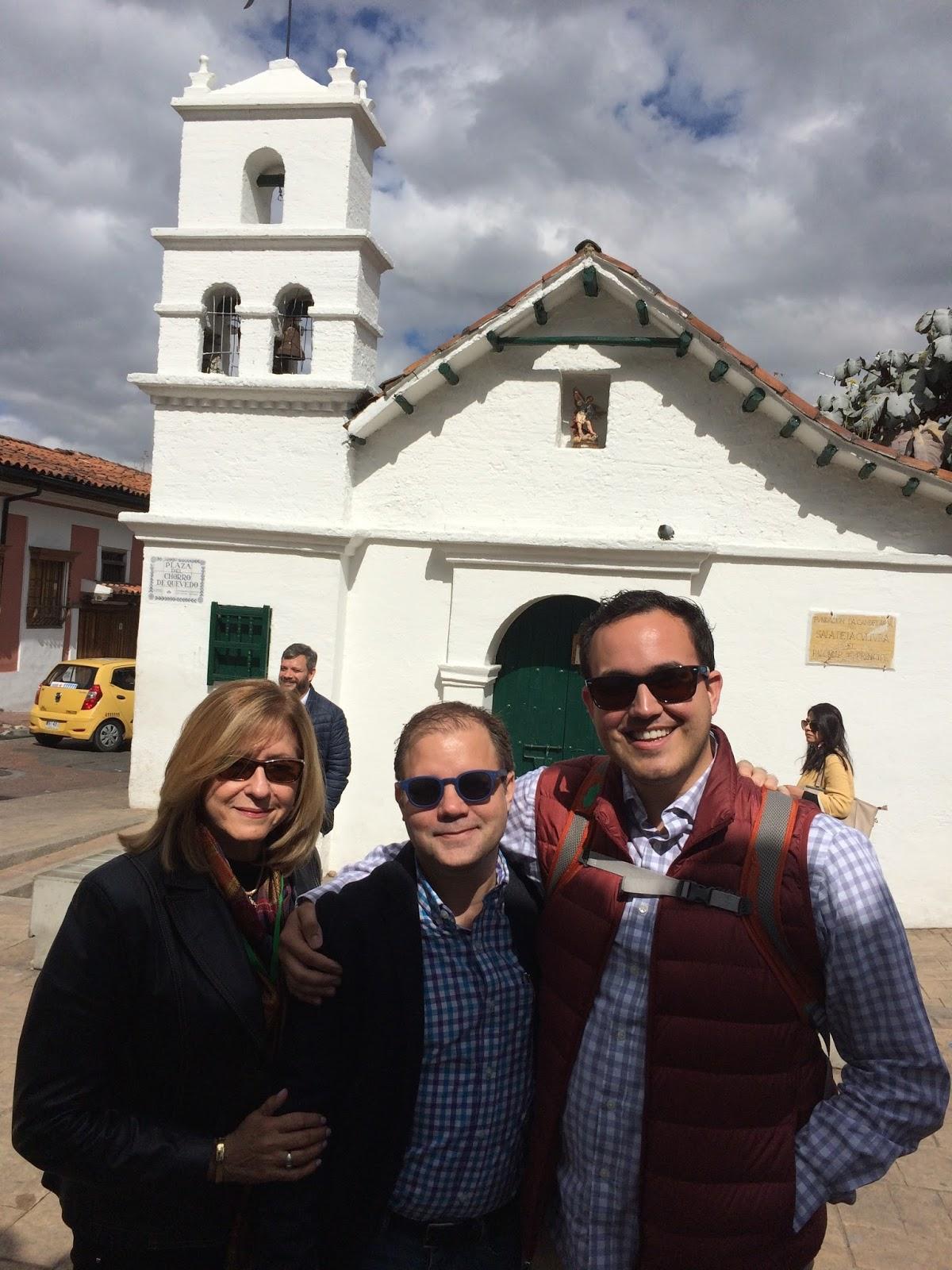 Con Evans Christensen y Joan Ferrer