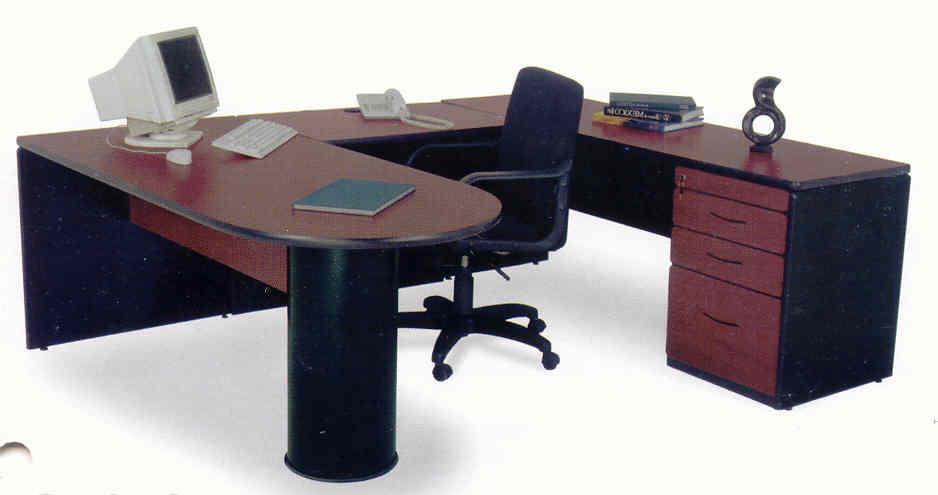 Muebles de oficina muebles de madera mobiliario de for Conjunto muebles oficina