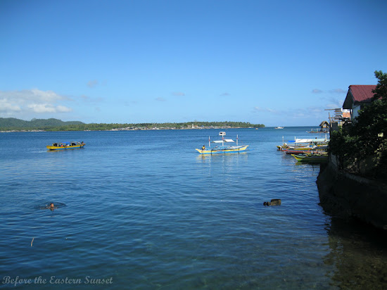 Clear sea of Masbate City, Bicolandia