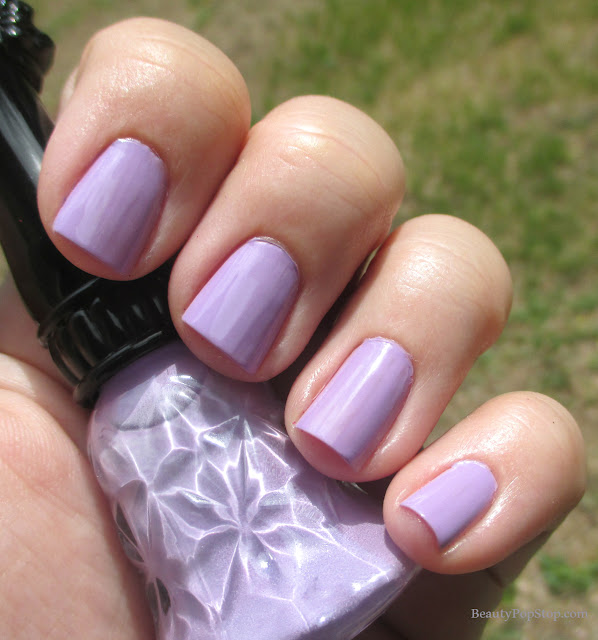 anna sui nail polish N201 swatch and review