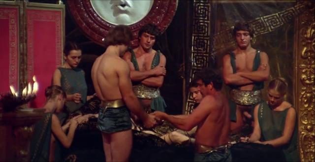 Секс видео римские оргии калигула