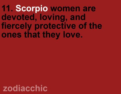 Scorpio women a...