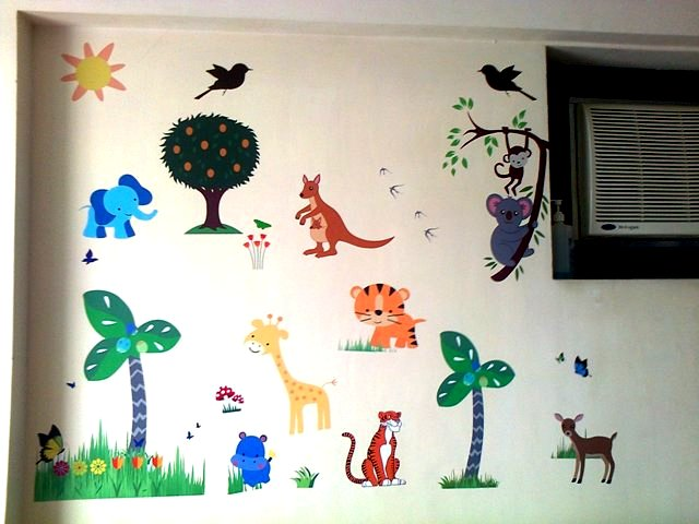 Kids wall decor, kids bedroom