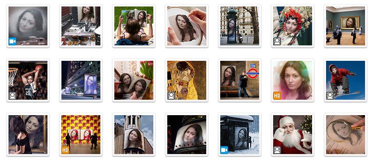 Koleksi Photofunia Frame
