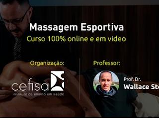 Curso de Massagem Esportiva com Prof. Dr. Wallace Stefanini