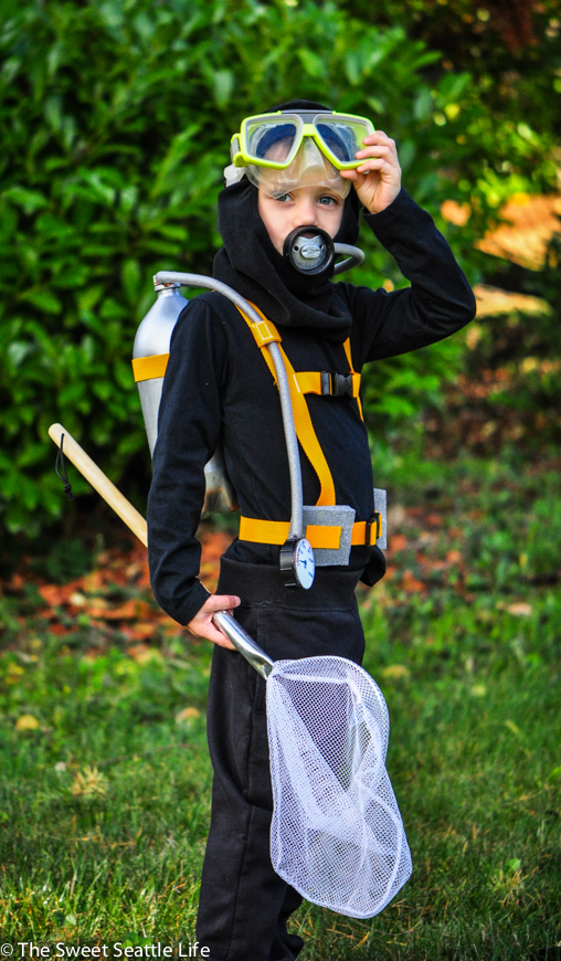 Chris And Sonja The Sweet Seattle Life Diy Scuba Costume Tutorial