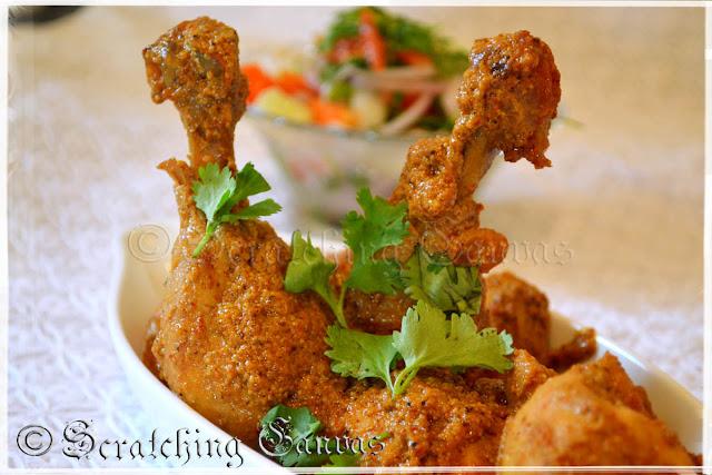 Kolkata Style Chicken Chanp