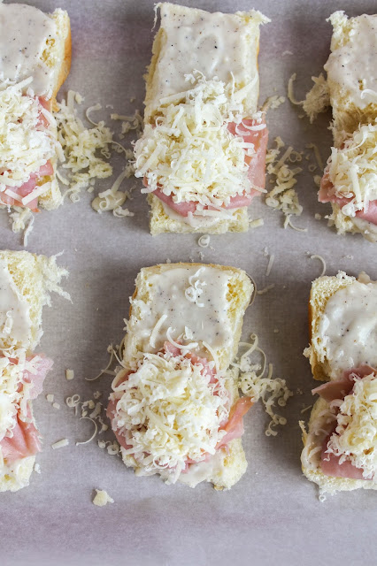 Croque Monsieur Sliders | The Chef Next Door